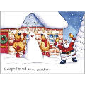 snowdeerpersonalised christmas cards