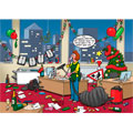 office party personalised christmas card