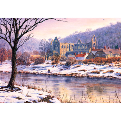 tintern abbey christmas card